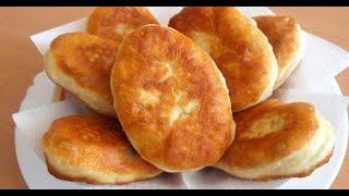 ЛУЧШИЕ Жаренные Пирожки с Картошкой! Дрожжевое Тесто, которое не прилипает к рукам