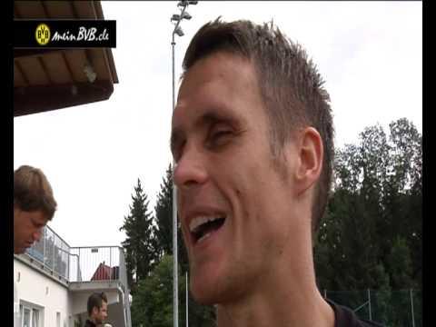 Trainingslager Tag 4 - Interview mit Sebastian Kehl im Trainingslager in Österreich