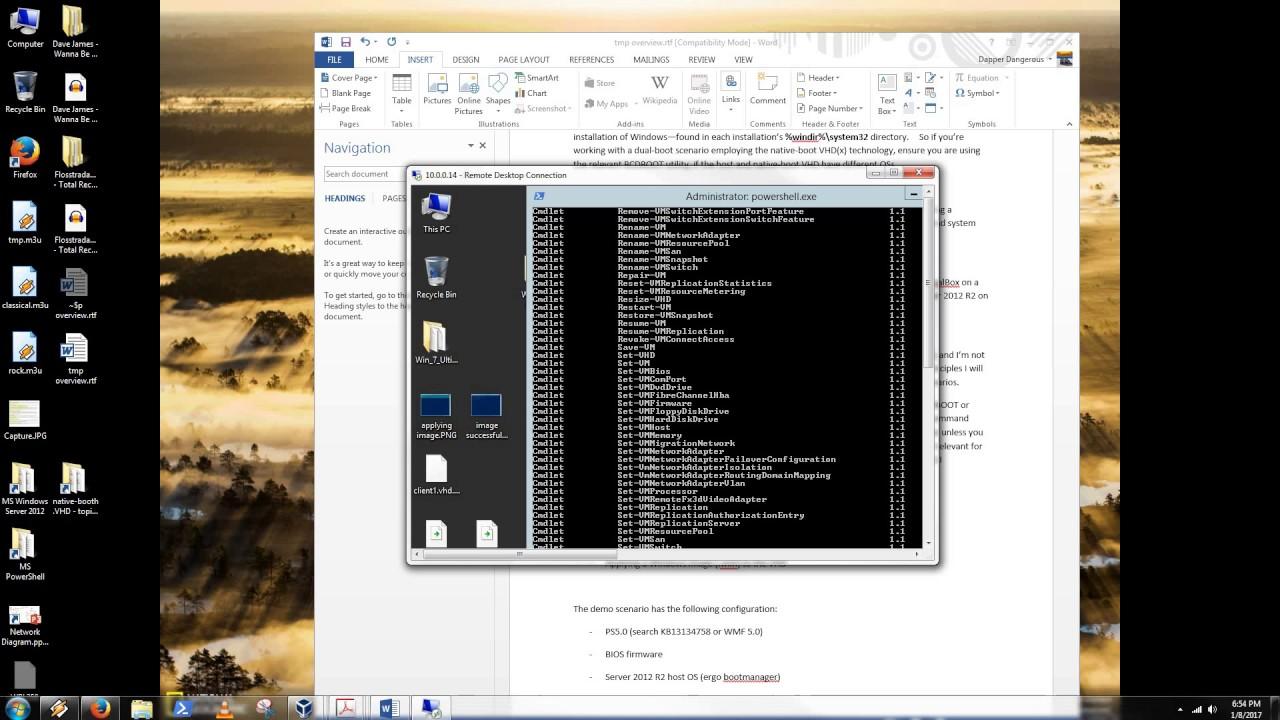 Dual-Purpose (Native-Boot OR Bootable VHD OR Boot2VHD) & Virtual-Machine  (VM) VHD(X) - Part 1
