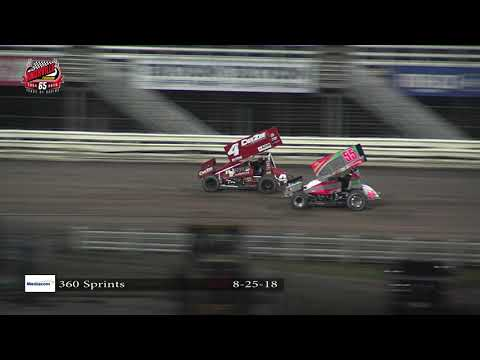 Knoxville Raceway 360 Highlights: August 25, 2018
