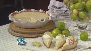 Recipe # 5216 Key Lime Pie W/white Macadamia Nut Graham Cracker Crust