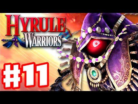 Hyrule Warriors - Gameplay Walkthrough Part 11 - Temple of the Sacred Sword! Wizzro Boss! (Wii U)