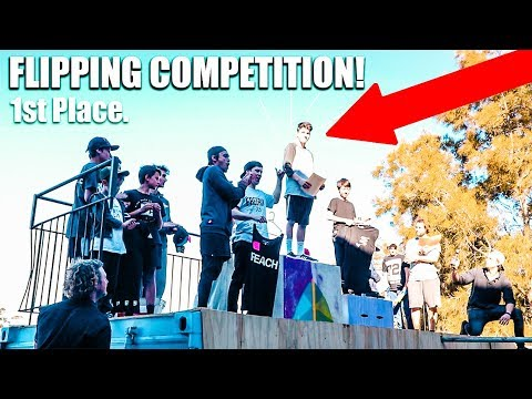 I CAN'T BELIEVE I CAME 1ST! *INSANE PARKOUR COMPETITION*