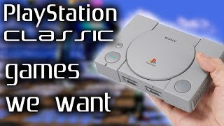 PlayStation Classic: Games We Want - Electric Playground