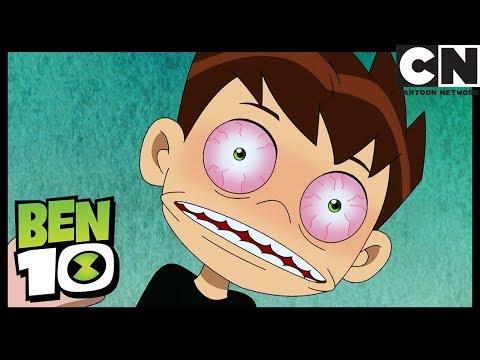 Ben 10 | Ben Goes Crazy Waiting In Line | Cyber Slammers | Cartoon Network