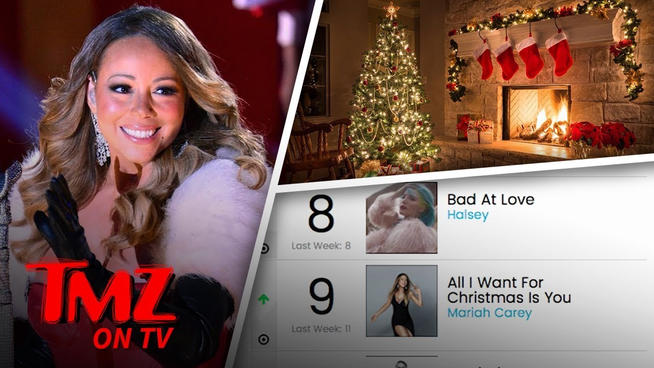 Youtube Mariah Carey Christmas.Mariah Carey Is Making Christmas Great Again Tmz Tv