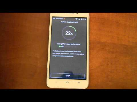 Benchmark Huawei Ascend G620s