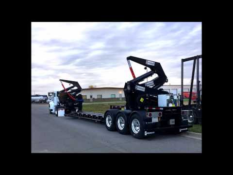 HAMMAR towing and recovery trailer