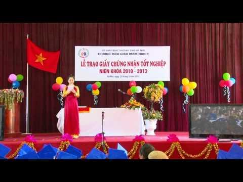 Trường mầm non B Hà Nội - Lễ nhận tốt nghiệp lớp A3 niên khóa (2000 - 2013) P1