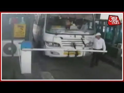 100 Shehar 100 Khabar: Driver Rams Bus Into Gurgaon Toll, Tries To Crush Manager And More