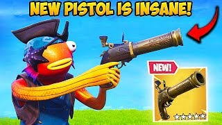*NEW* FLINT-KNOCK PISTOL IS OP! - Fortnite Funny Fails and WTF Moments! #503