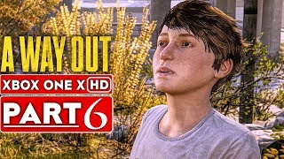 A WAY OUT Gameplay Walkthrough Part 6 [1080p HD Xbox One X] - No Commentary