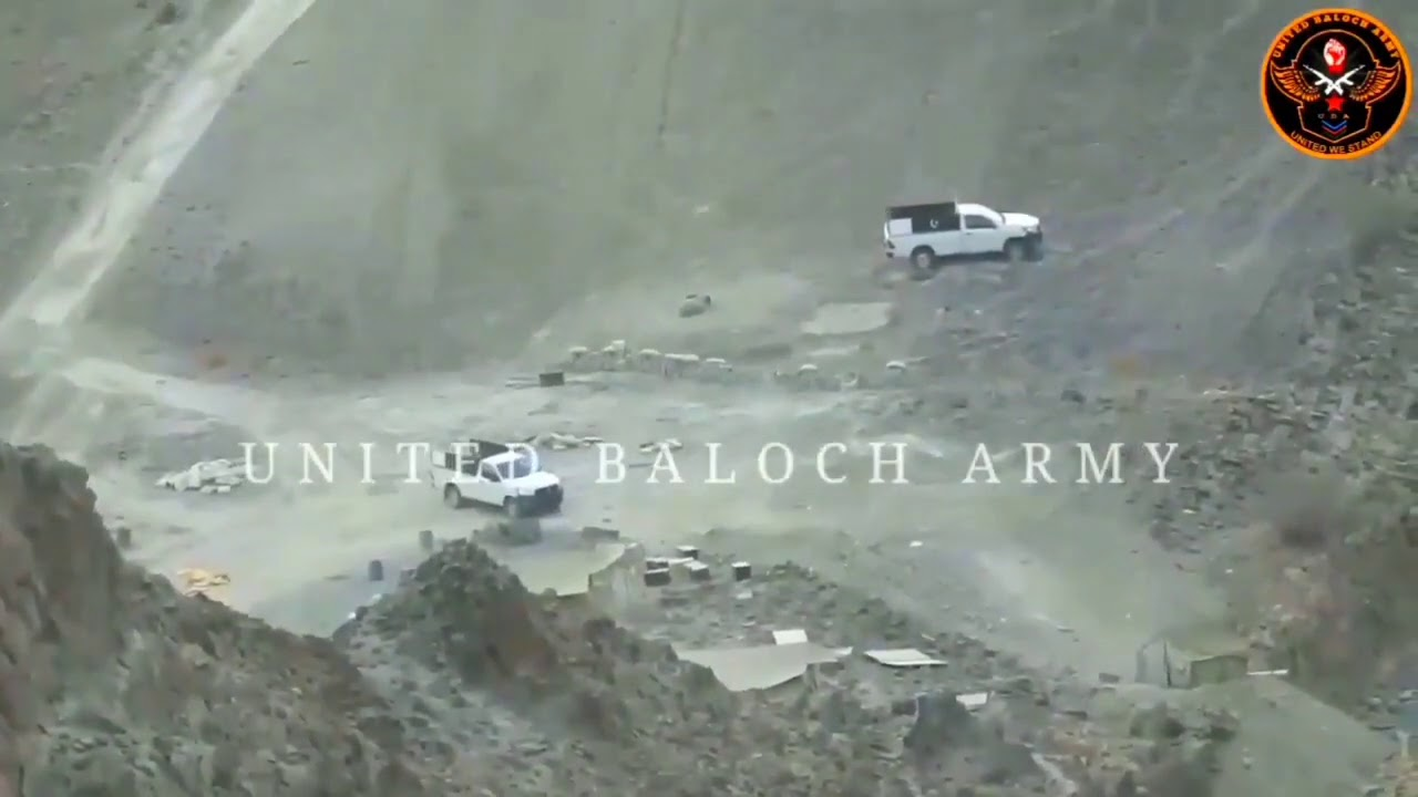 Download 5 Pakistani soldiers died in United Baloch Army attack, Balochistan.