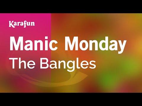 Karaoke Manic Monday - The Bangles *