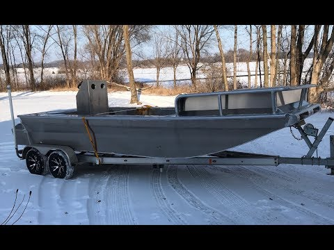Let's build a Bowfishing rig Part 2, the hull and platf ...