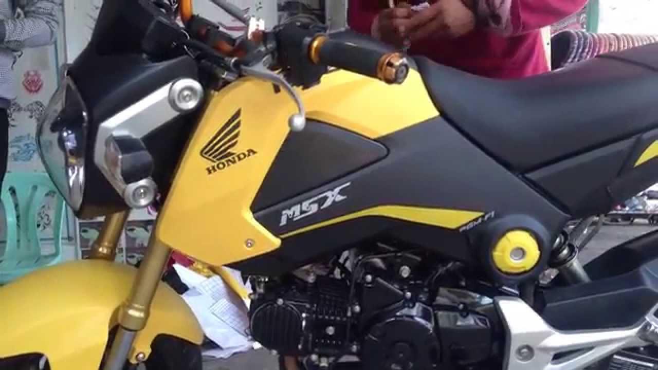 2015 honda msx 125 new - honda grom/msx 2015(the best motorcycle