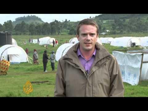 DRC refugees flood Uganda
