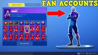 FANS GIVE ME THEIR ACCOUNTS... Here's What I Found! (Fortnite Battle Royale #1)