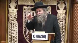 "CHAZAQ Shiur with Rav Avraham Schorr on ""Everyone Can Improve Thru the Honey Sweet Torah"""