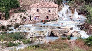 SATURNIA echte Naturtherme in der Toskana Italien Juli 2014  GK