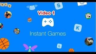 video 3: instant game facebook Unity  كورس