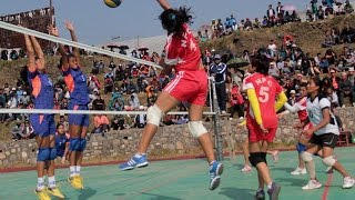 Bhum Budha 46    राष्ट्रीय महिला भलिबल प्रतीयोगीता    National Women's Volleyball   