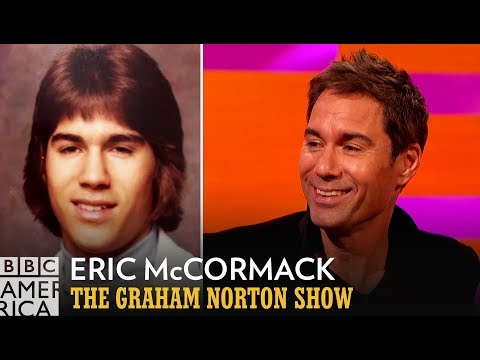 Eric McCormack's Throwback Photo Gets Roasted  The Graham Norton