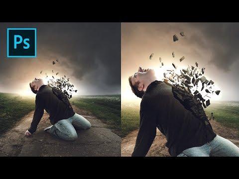 Cement Collapse Effect - Photoshop Tutorial thumbnail