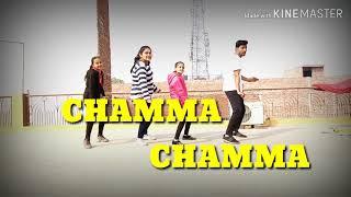 CHAMMA CHAMMA # DANCE CHOREOGRAPHY