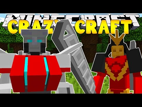 Minecraft Crazy Craft 3.0 : TRANSFORMERS #12