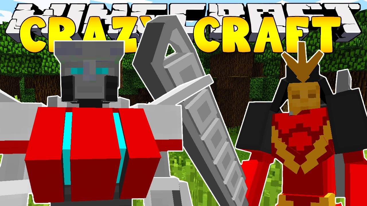 Minecraft crazy craft 3 0 transformers 12 doovi for Http test voidswrath com modpacks crazy craft 3 0