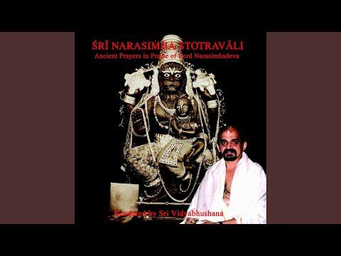 Sri narasimha ashtaka (Sri vijayendra tirtha)