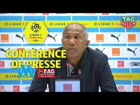 Conférence de presse Olympique de Marseille - EA Guingamp (4-0) / 2018-19
