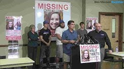 Watch Now: Iowa authorities hold press conference on search for Mollie Tibbetts
