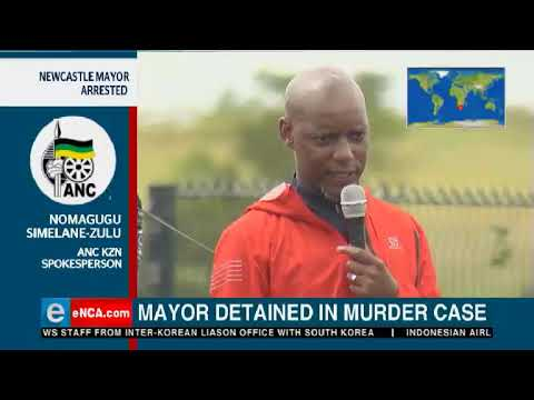 ANC opens up on Newcastle mayor arrest