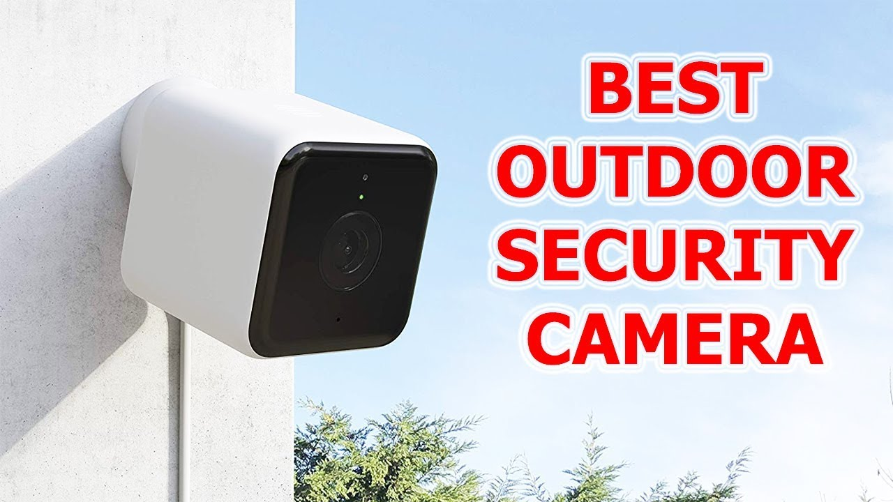 5 Best Outdoor Security Camera On Amazon Best Security Cam 2019 Youtube