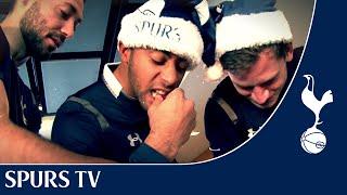 The Lads make gingerbread | Funny Festivities at Tottenham Hotspur