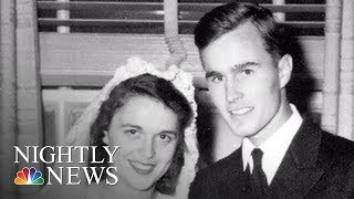 George H. W. Bush And Barbara Bush's Enduring Love Story | NBC Nightly News