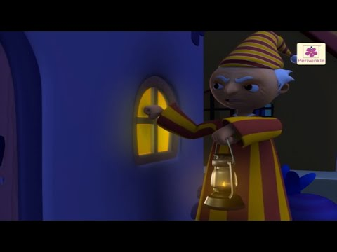 Wee Willie Winkie | 3D English Nursery Rhyme for Children | Periwinkle | Rhyme #39