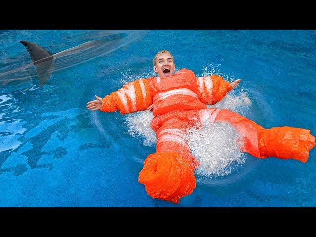 LAST to SINK WINS $10,000!! (DIY Inflatable Float Challenge)
