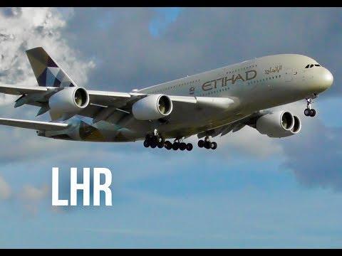 *HEAVY Late Afternoon Arrivals* London Heathrow, LHR Incl AirBridge Cargo, Qatar Amiri Flight ...🛩🛬