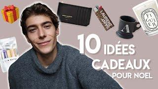10 IDÉES DE CADEAUX POUR NOEL HOMME