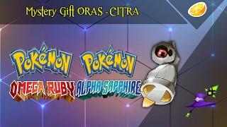 Mystery Gift Pokémon Omega Ruby e Alpha Sapphire - Como conseguir - CITRA SEM BUGS