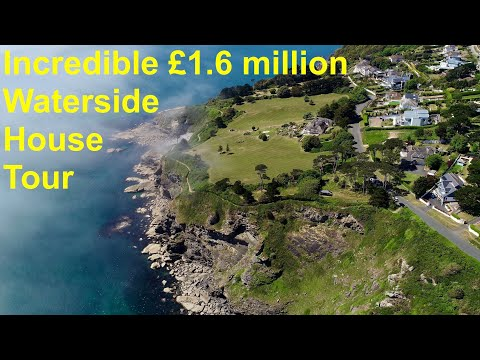 Incredible £1.6 Million Waterside House Tour