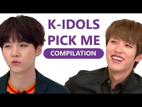 K-IDOLS DANCING TO I.O.I PICK ME (COMPILATION)