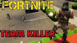 *OMG* TEAM KILLER GETS INSTA KARMA - FORTNITE BATTLE ROYALE SQUADS GAMEPLAY - #FLUSHSQUAD