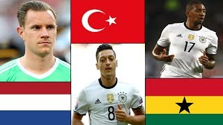 Did You Know The Original Countries Of Germany National Football Team