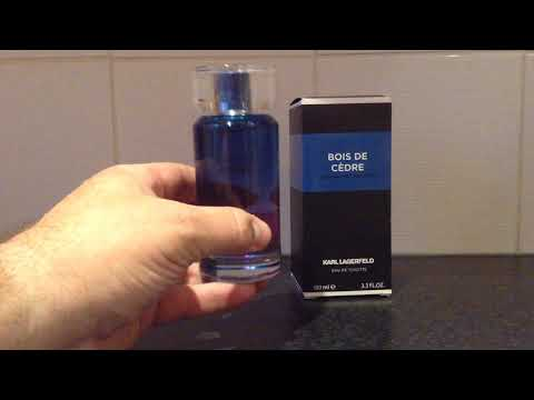 'Cheap' But 'Good' Fragrances/Colognes Episode #12 Karl Lagerfeld Bois De Cedre