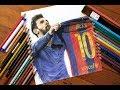 Messi el clasico drawing