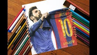 Messi el clasico drawing